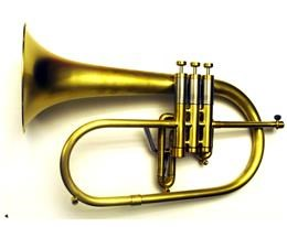 X19 FLICORNO SOPRANO RAW BRASS SATINATO