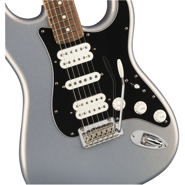 STRATOCASTER® PLAYER HSH PF SILVER