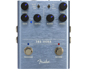TRE-VERB DIGITAL REVERB TREMOLO PEDALE