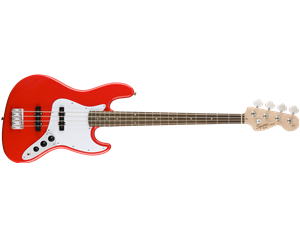 JAZZ BASS® AFFINITY LRL RACE RED