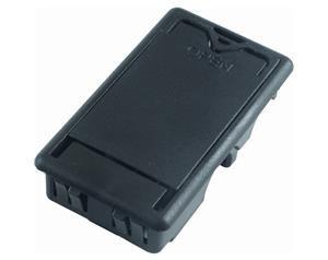 ECB244 BATTERY BOX, BLACK