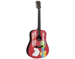 DX WOODSTOCK 50TH CHITARRA ACUSTICA