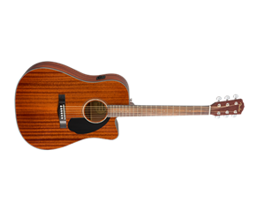 CD-60SCE DREADNOUGHT ALL MAHOGANY WN