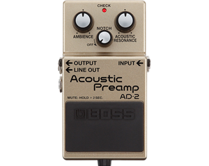 AD-2 ACOUSTIC PREAMP
