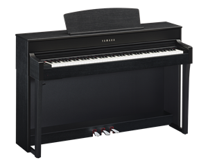 CLP645B SATIN BLACK PIANOFORTE DIGITALE
