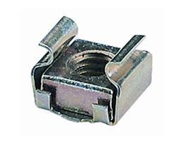RS/248 EU Dadi con graffa M6 in acciaio zincato
