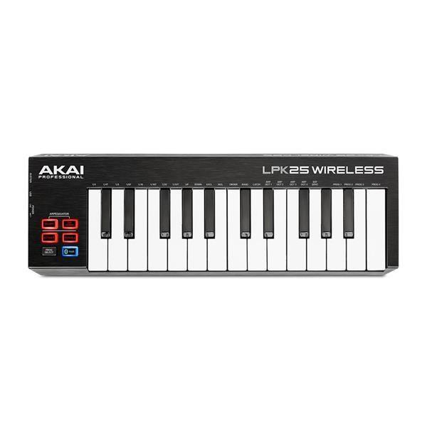 LPK25 WIRELESS: MINI TASTIERA MIDI A 2 OTTAVE BLUETOOTH E USB