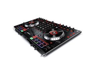 NS6II DJ CONSOLE MIDI A 4 DECK CON SCHEDA AUDIO, SUPPORTO DVS E 2 PORTE USB