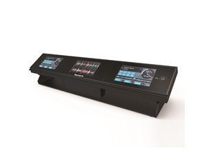 """DASHBOARD: BARRA CON 3 MONITOR LCD DA 4,3"""" PER SERATO DJ"""