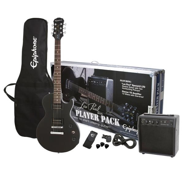 LES PAUL® ELECTRIC GUITAR PACK EBONY