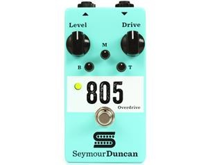 THE 805 OVERDRIVE PEDALE