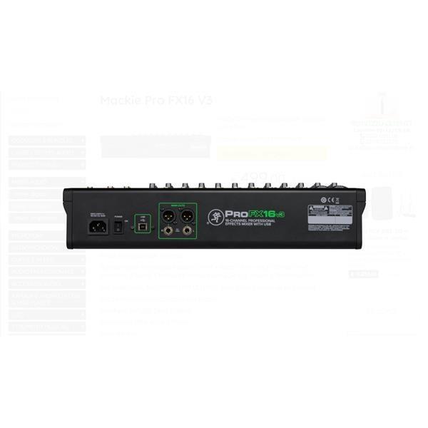 PRO FX16 V3 MIXER