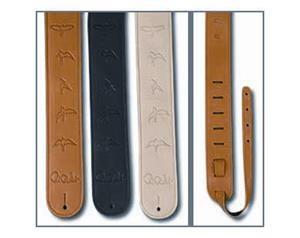 Acc-3112-tn Strap, Tan Leather Birds