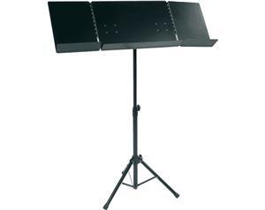 PUVX Leggio Pieghevole Orchestra Nero