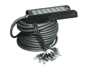 H106-10 Ciabatta Audio 24x XLR In / 4x XLR Out 10 m