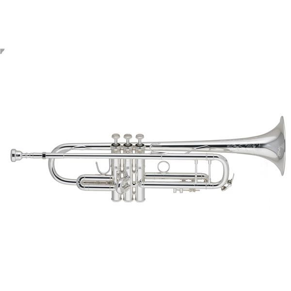 190-37S TROMBA IN SIB SILVER PLATED