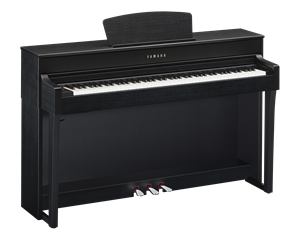 CLP635B SATIN BLACK PIANOFORTE DIGITALE