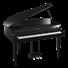 Clp665gp Ebano Lucido Pianoforte Digitale A Coda