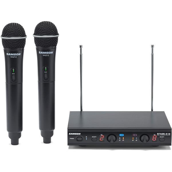 STAGE 212 E VHF DUAL HANDHELD SYSTEM