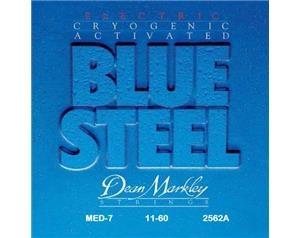 2562A-MED-7 BLUE STEEL 11/60 SET CORDE
