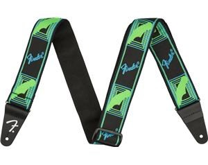 NEON MONOGRAMMED GREEN/BLUE TRACOLLA