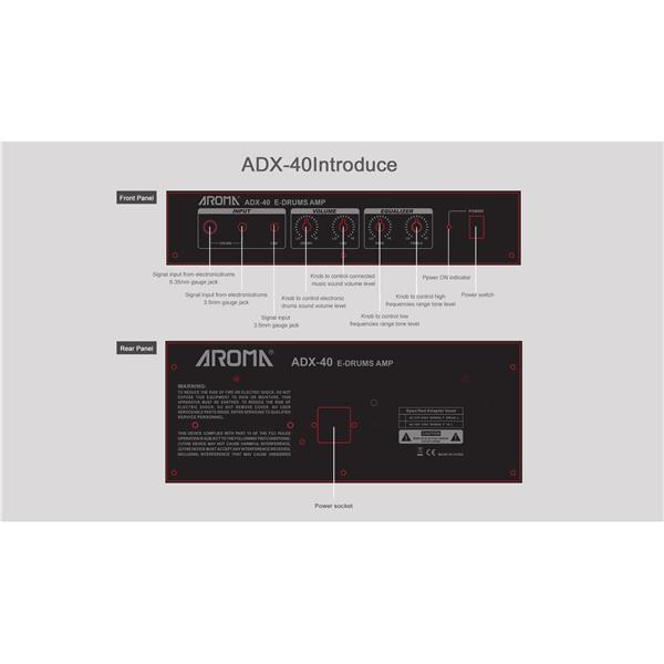 ADX-40 AMPLIFICATORE