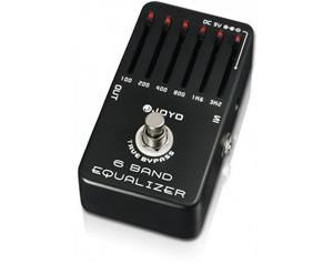 JF-11 6 BANDS EQ EQUALIZZATORE PEDALE