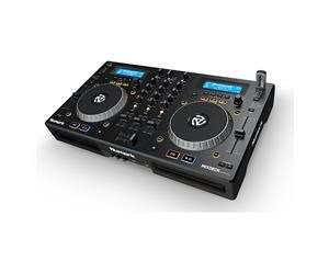 MIXDECK EXPRESS: ALL-IN-ONE, CD, MP3, CONTROLLER, MIXER 3 CANALI + SCHEDA AUDIO USB