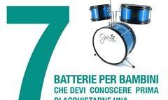 7 batterie per bambini che devi conoscere prima di acquistarne una