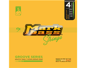 MB4GVNP45100LS GROOVE SERIES MEDIUM/LIGHT 45/100 SET CORDE