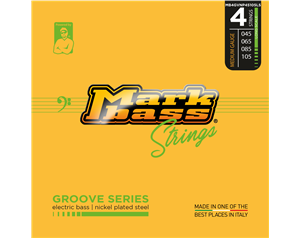 MB4GVNP45105LS GROOVE SERIES MEDIUM 45/105 SET CORDE