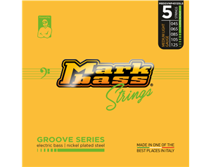 MB5GVNP45125LS GROOVE SERIES MEDIUM/LIGHT 45/125 SET CORDE