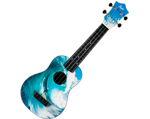 TUS25 ABS TRAVEL SURF UKULELE