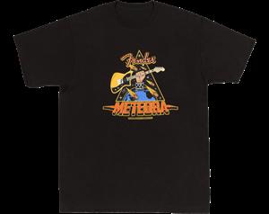 METEORA TEE BLACK XLARGE