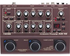 AD10 ACOUSTIC PREAMP