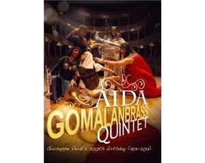 AIDA GOMALAN BRASS QUINTET DVD