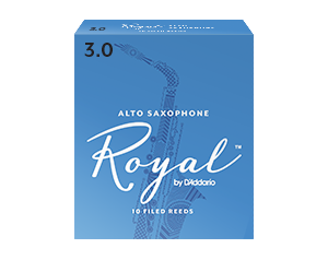 ROYAL 2.5 BOX 10 ANCE ALTO SAX