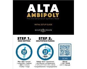 ALTA AMBIPOLY VIVACE 2.5+ ANCIA CLARINETTO SIB