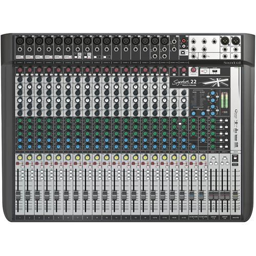 SIGNATURE 22 MULTITRACK MIXER