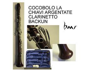 Cocobolo La Chiavi Argentate Clarinetto