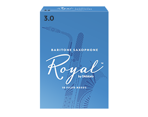 ROYAL 3.5 BOX 10 ANCE BARITON SAX