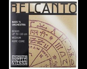 BC600 BELCANTO CONTRABBASSO 3/4 SET CORDE