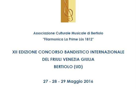 Daminelli Pietro S.r.l. presente al XII° Concorso Bandistico Internazionale del Friuli Venezia Giulia