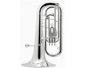 Be177 Basso Tuba Mib 3 Pistoni Argentato