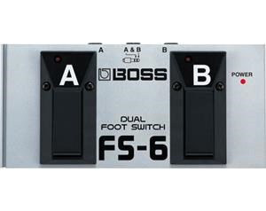 FS6 PEDALE DUAL FOOTSWITCH