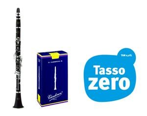 Clarinetto B&c Prodige Bc2541l-2-0gb  Con Ance In Omaggio