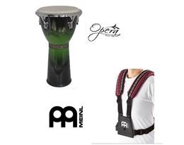 BUNDLE 8512GB DJEMBE' VERDE + MDJS1 TRACOLLA