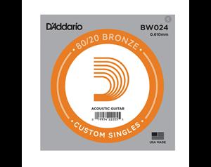 BW024 CORDA SINGOLA BRONZO 0,24