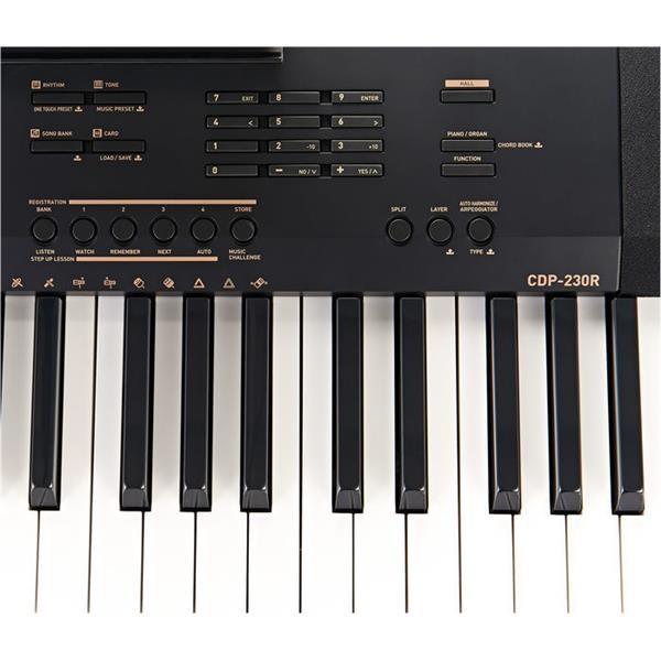 CDP 230-R BK PIANO DIGITALE