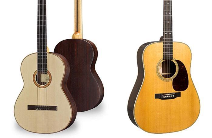 chitarra classica vs acustica